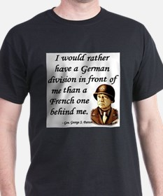 Patton Quote - German division in front of me Ash