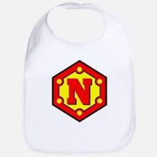 Super N Logo Costume 10 Bib