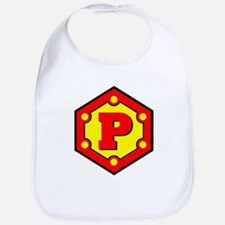 Super P Logo Costume 10 Bib