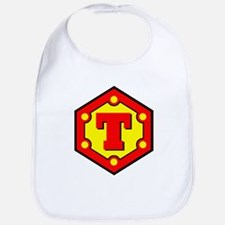 Super T Logo Costume 10 Bib