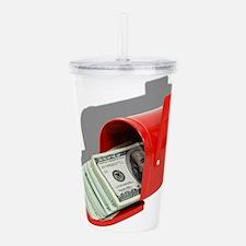 MoneyInMail051409Shado Acrylic Double-wall Tumbler
