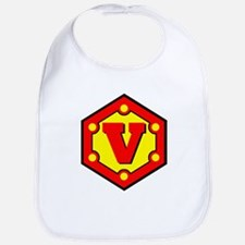 Super V Logo Costume 10 Bib