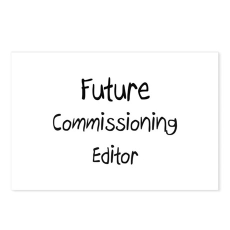 Future Commissioning Editor Postcards (Package of