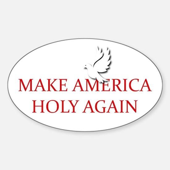 Make America Holy Again Decal