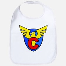 Super C Logo Costume 13 Bib