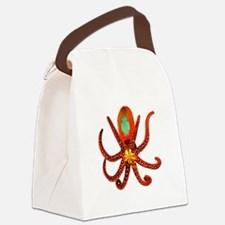 TENTACLES Canvas Lunch Bag
