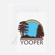 Vintage Retro Yooper Greeting Card