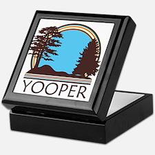Vintage Retro Yooper Keepsake Box