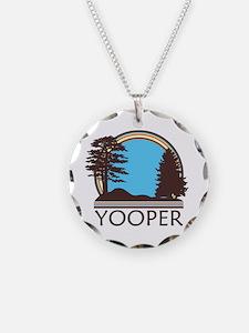 Vintage Retro Yooper Necklace