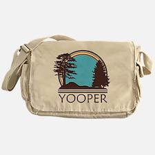Vintage Retro Yooper Messenger Bag