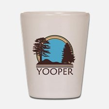Vintage Retro Yooper Shot Glass