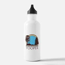 Vintage Retro Yooper Water Bottle