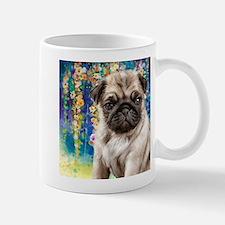 Pug Painting Mugs