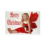 Christmas Faery Rectangle Magnet (100 pack)