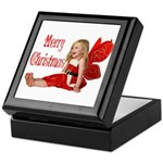 Christmas Faery Keepsake Box