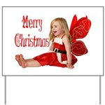 Christmas Faery Yard Sign