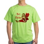 Christmas Faery Green T-Shirt