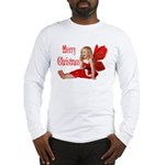 Christmas Faery Long Sleeve T-Shirt