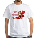 Christmas Faery White T-Shirt