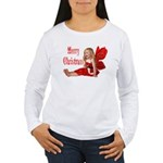 Christmas Faery Women's Long Sleeve T-Shirt