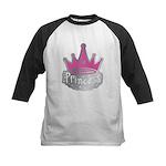 Princess Kids Baseball Jersey