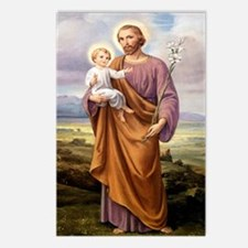 St. Joseph Postcards (package Of 8)