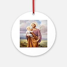 ST. JOSEPH Ornament (Round)