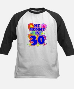Mommy 30 Baseball Jersey