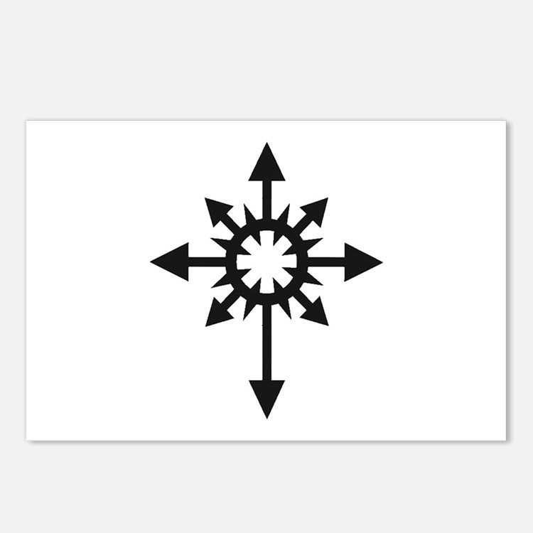 Warhammer 40k Chaos Postcards (Package of 8)