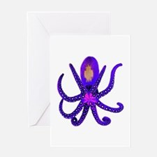 TENTACLES Greeting Cards