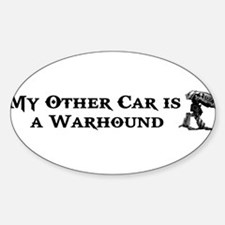 My Other Car is a Warhound Decal