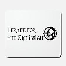 I Brake for the Omnissiah Mousepad