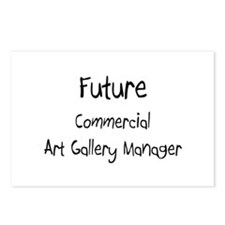 Future Commercial Art Gallery Manager Postcards (P