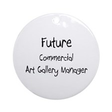 Future Commercial Art Gallery Manager Ornament (Ro