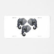 HERD Aluminum License Plate