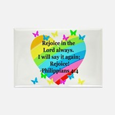 PHILIPPIANS 4:4 Rectangle Magnet