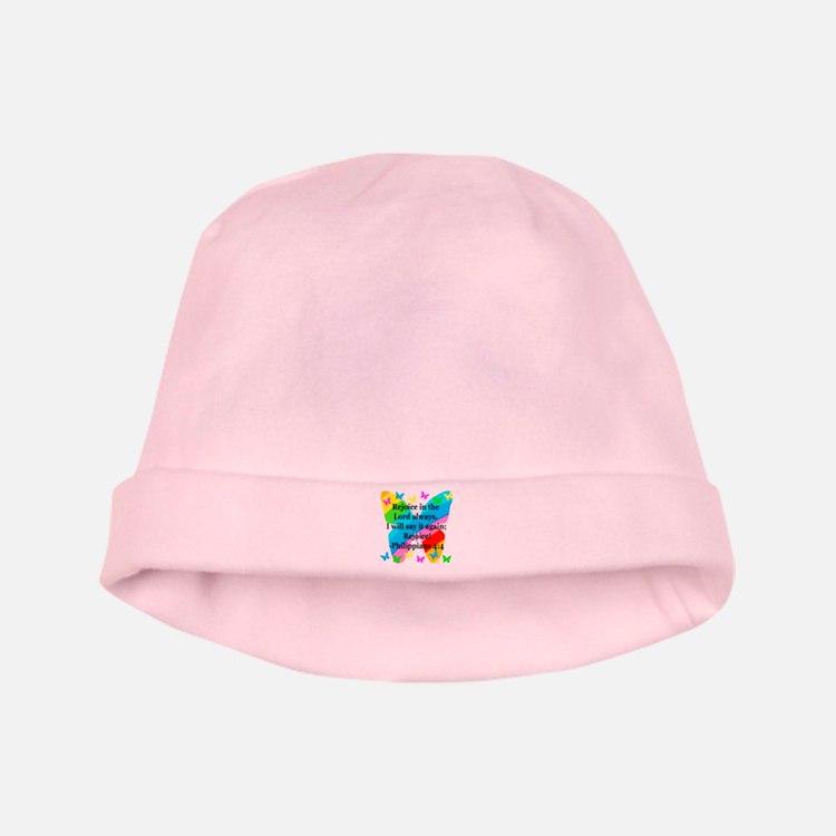 PHILIPPIANS 4:4 baby hat
