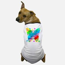 PHILIPPIANS 4:4 Dog T-Shirt