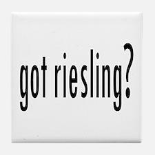 got riesling? Tile Coaster