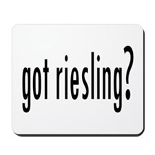got riesling? Mousepad