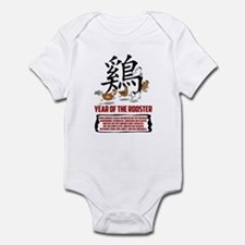Year of The Rooster Traits Infant Bodysuit