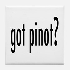got pinot? Tile Coaster