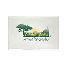 Common Ground Retreat for Cou Rectangle Magnet