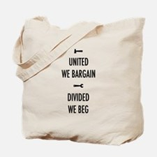 United We Bargain III Tote Bag