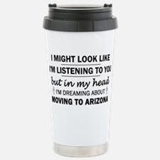 Moving to Arizona Stainless Steel Travel Mug