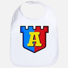 Super A Logo Costume 12 Bib