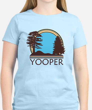 Vintage Retro Yooper Women's Light T-Shirt