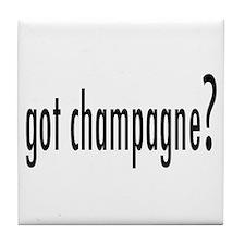got champagne? Tile Coaster