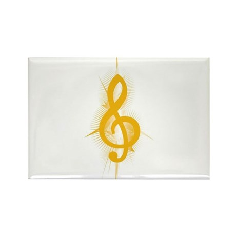 Yellow Note Rectangle Magnet