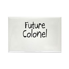 Future Colonel Rectangle Magnet